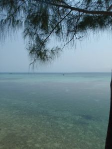 View from Prison Island, Zanzibar.