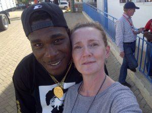 With Nigeria's Burna Boy